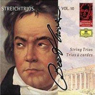 Beethoven: Streichtrios Vol. 10