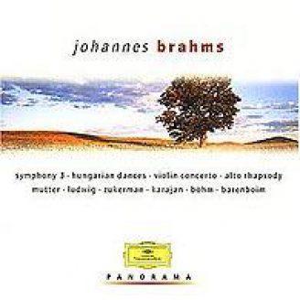 Brahms: Symphonie 3, Ungarische Tänze, Violinkonzert