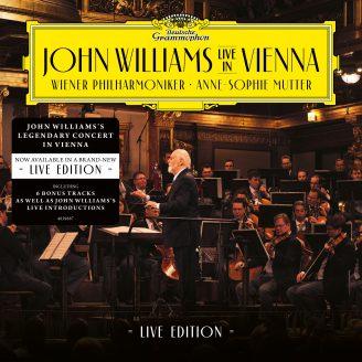John Williams Live Vienna – 2CD Live Edition - 6 bonus tracks & Williams' on-stage commentary