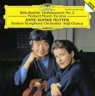 Moret, Bartók: En Rêve / Violinkonzert Nr. 2