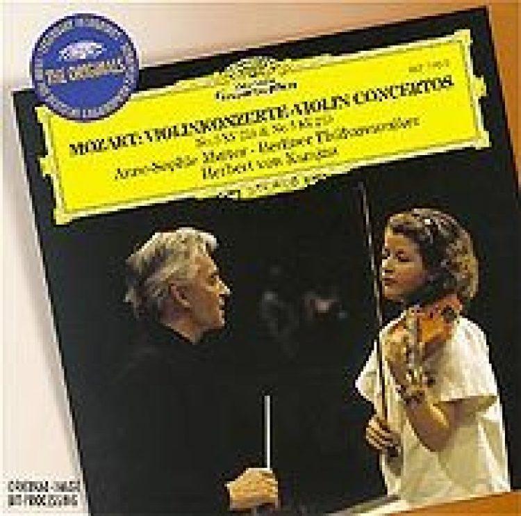 """Mozart: Violinkonzerte Nr. 3 + 5 - Neuauflage """"The Originals"""""""