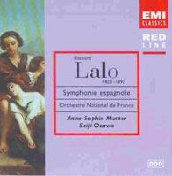 Lalo: Sinfonia Espanola - Erstveröffentlichung 1982/83/84 new compilation