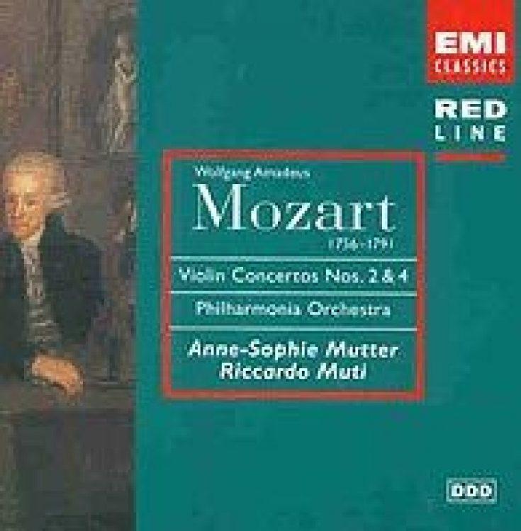 Mozart: Violinkonzerte Nr. 2 + 4 - Erstveröffentlichung 1982/89 - New compilation