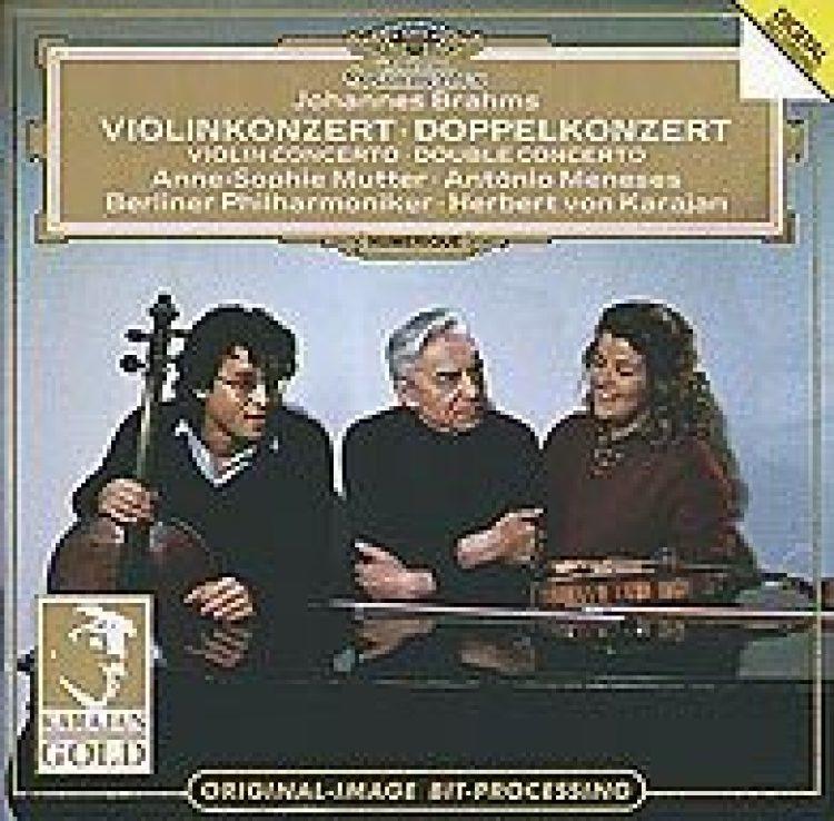 Brahms: Violinkonzert / Doppelkonzert - Karajan Gold Edition