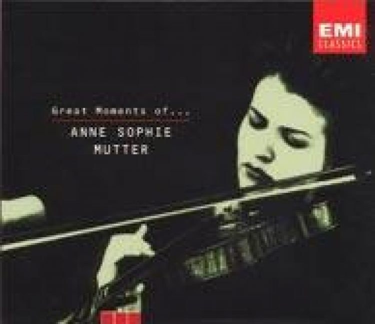 Great Moments of... Anne Sophie Mutter - Box Set 3CD