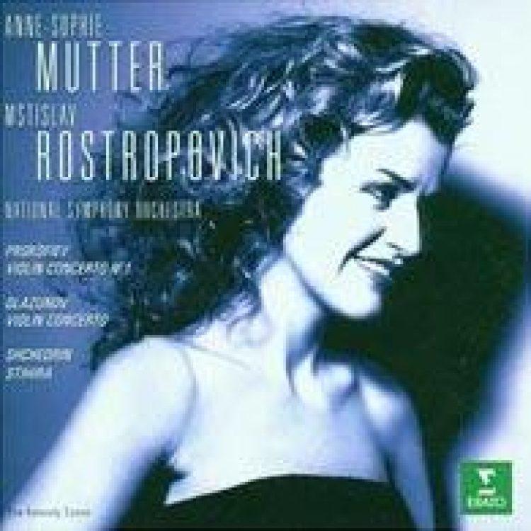 Mutter, Rostropowitsch: Violinkonzerte -
