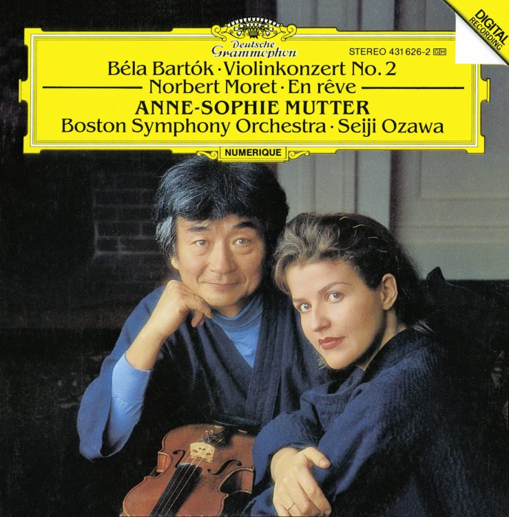 Moret, Bartók: En Rêve / Violinkonzert Nr. 2 -