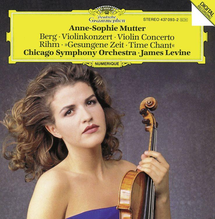 Berg / Rihm: Violinkonzert / Gesungene Zeit -