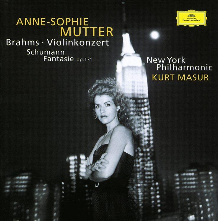 Brahms: Violinkonzert + Schumann Fantasie - Recorded live at Lincoln Center Festival