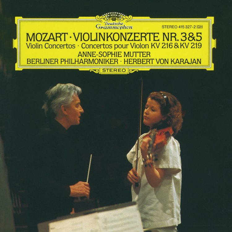 Mozart: Violinkonzerte Nr. 3 + 5 -