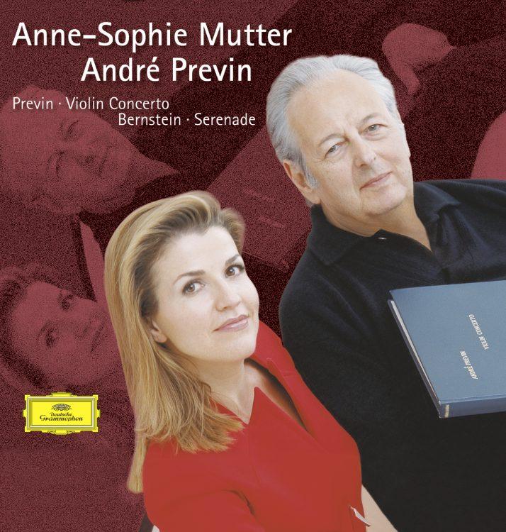 Previn: Violin Concerto, Bernstein: Serenade -
