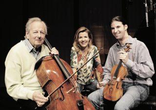mit Sir André Previn und Müller-Schott