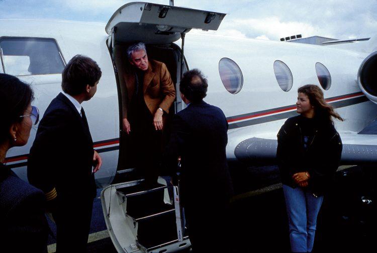 Auf Tournee mit Herbert von Karajan, 1981
