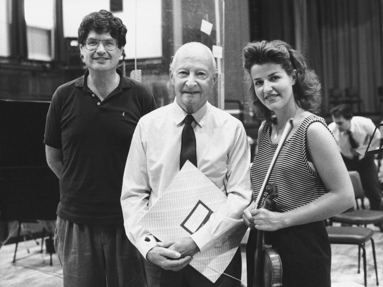 with Philipp Moll, Witold Lutoslawski