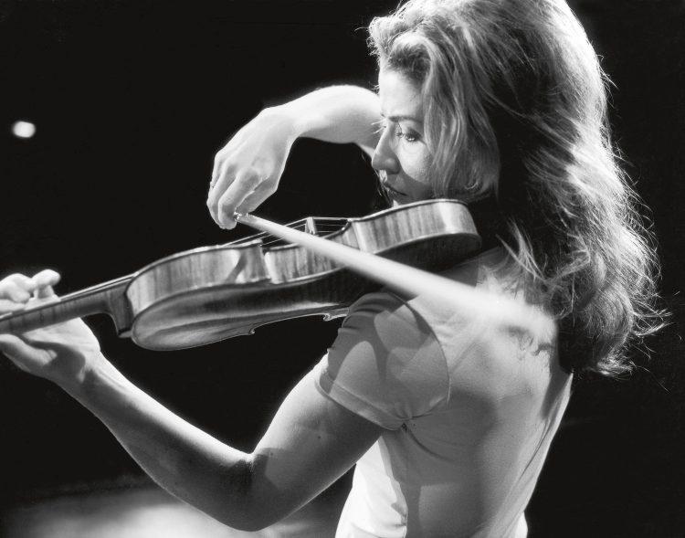 Proben der Beethoven Violin Sonaten mit Lambert Orkis in Baden-Baden, 1998