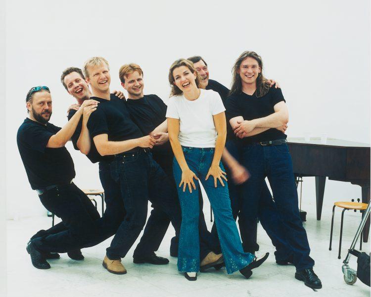 <p>Aufnahme von <strong>Vivaldis Vier Jahreszeiten</strong> mit den <em>Trondheim Soloists</em> in Kopenhagen, Mai 1999</p>