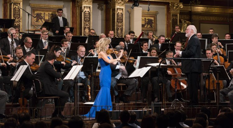 John Williams and Anne-Sophie Mutter in Vienna