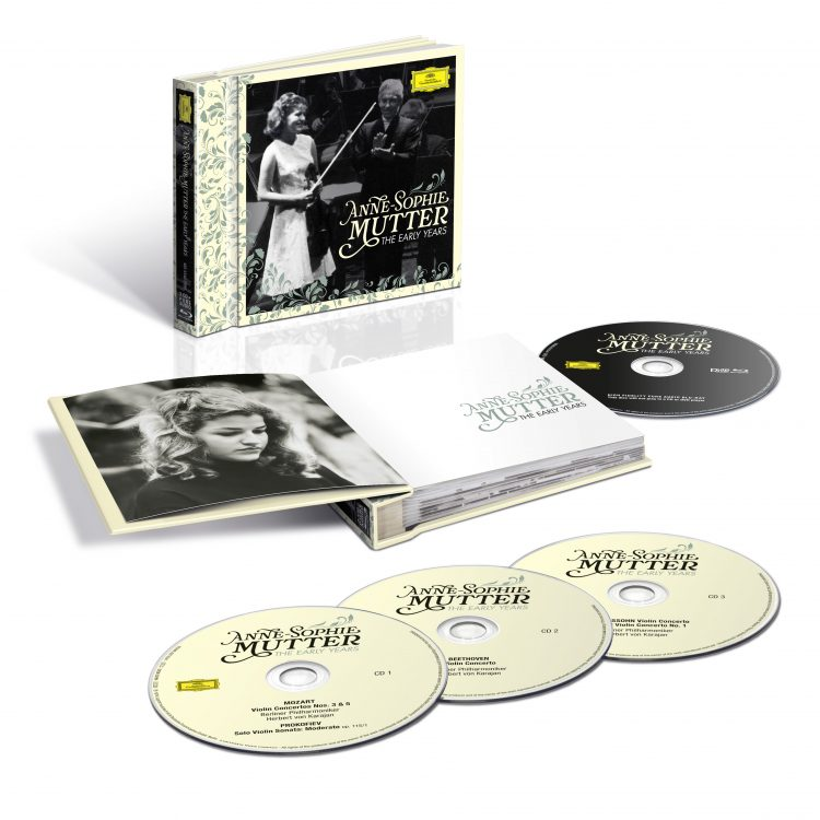 <p>The limited edition comes with three CDs and one Blu-ray Audio Disc.</p>
