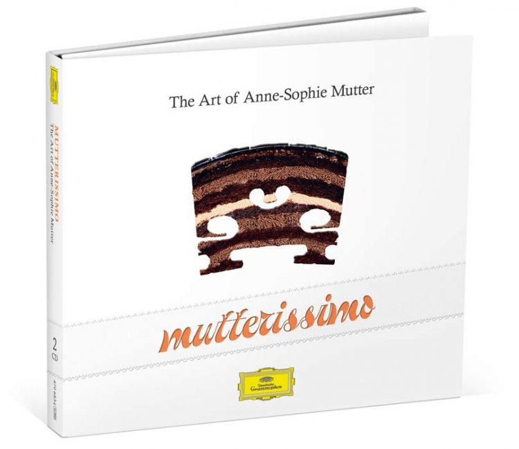 Four Decades in the Spotlight - Anne-Sophie Mutter Celebrates Stage Anniversary with Double CD Mutterissimo – 2016